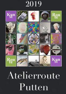 Atelierroute Putten 2019 Flyer