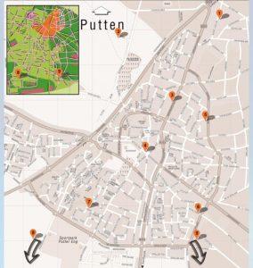 Atelierroute Putten 2019 route